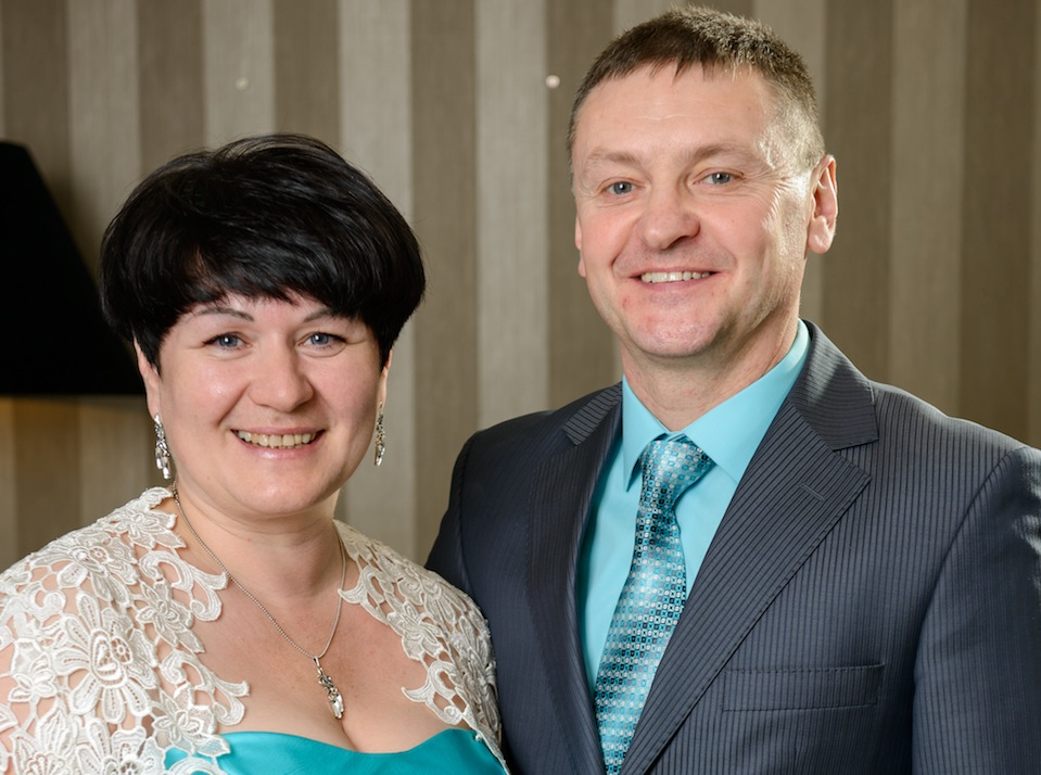 Олег Маяцкий и Наталья Маяцкая